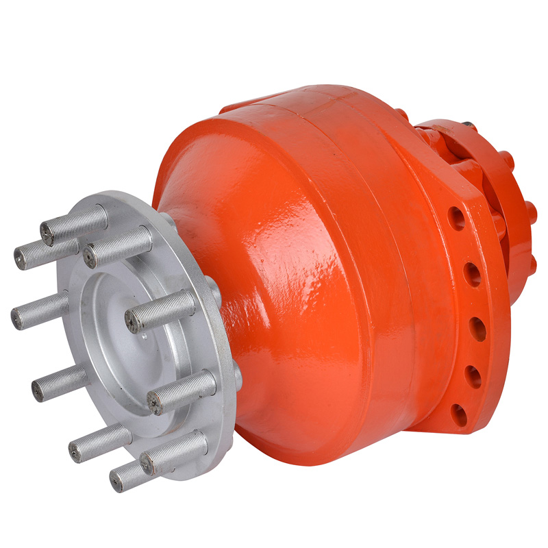MS series Radial piston motor used for Roller