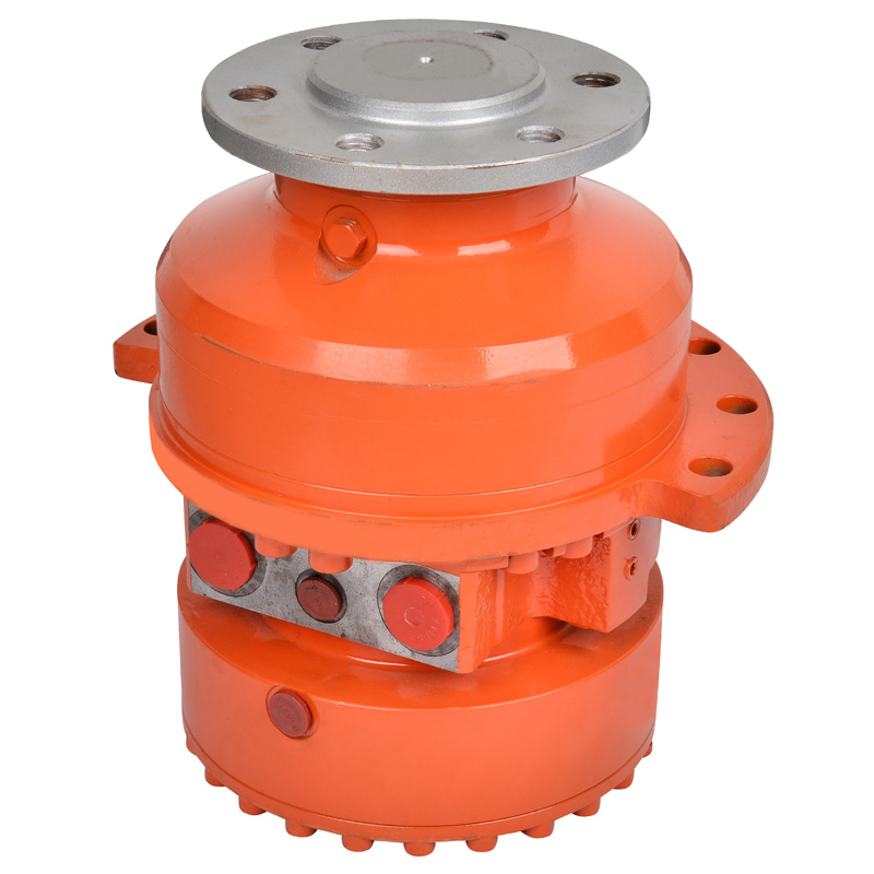 MCR high torque Low Speed Radial piston motor used for Skid steer loader